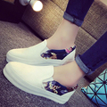 2017 Venders Wholesale Hot Sale Mujer Women's Fashion Casual Slip On Nurse Flats Platforms Trainers Sneakers Shoes Loafers G733