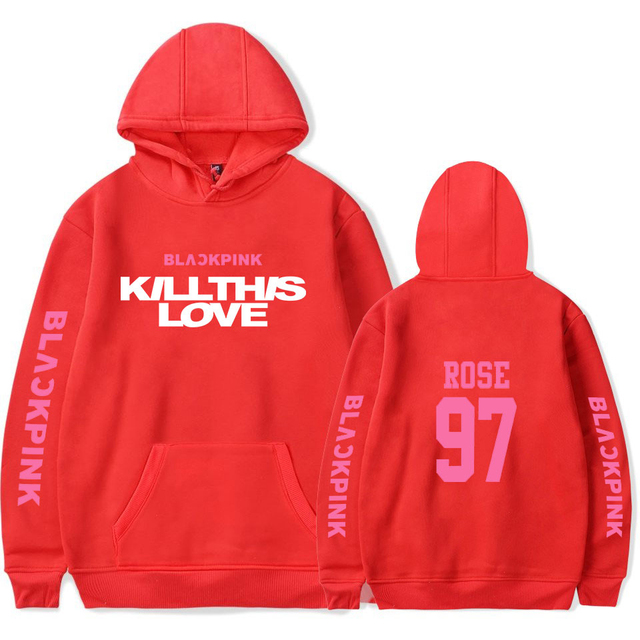 BLACKPINK KILL THIS LOVE HOODIE (24 VARIAN)