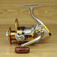 Metal Spool Spinning Reel Fish Salt Water Fishing Reel Carretilha Pesca Wheel 10Ball Bearing 5.5:1