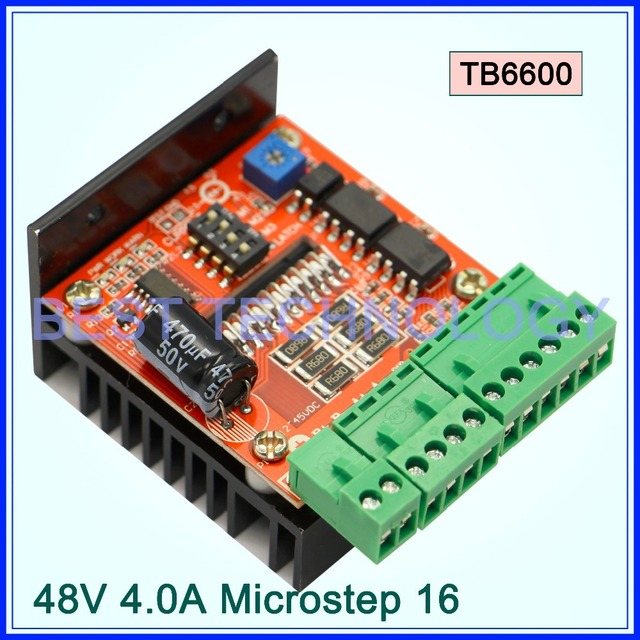 Tb6560ahq Chip Tb6600 Stepper Motor Driver Board Stepping Motor Single Axis Cnc Controller  5a