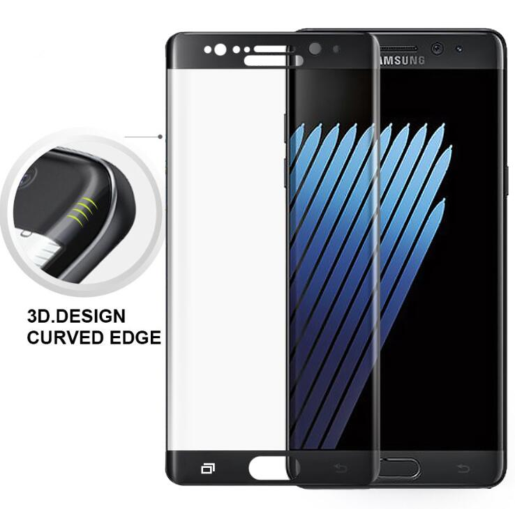 For Samsung Galaxy Note 7 5 4 Tempered Glass 3D Full Cover Screen Protector Film Cover Foil For Samsung Note 4 5 7 Glass Film