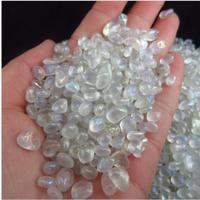 11lb Tumbled Bulk Beautiful moonstone stone crystal particles