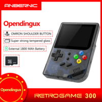 rg300 INCH Video games Portable Retro FC console Retro Game Handheld Games Console Player RG 300 16G+32G 3000 GAMES Tony system