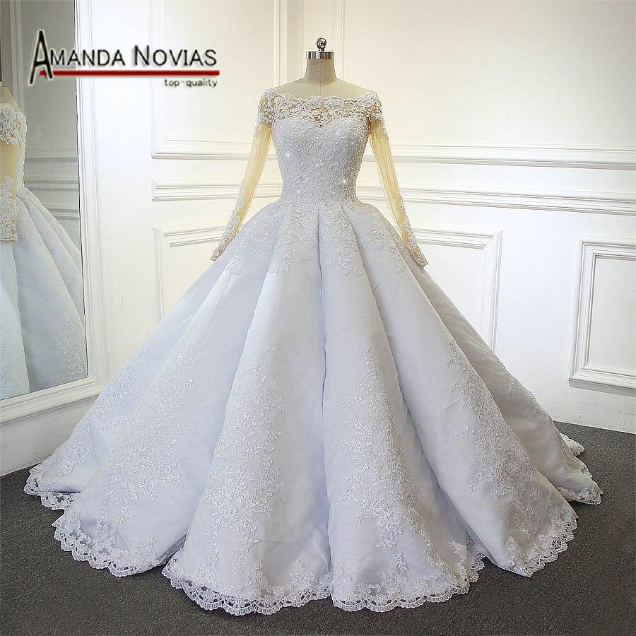 Buy amanda novias luxury wedding dress for Dresses for girls for wedding