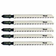 5 шт./компл. новые T101B Лобзики для резки древесины хвойных пород и лиственных пород для Bosch 100 мм