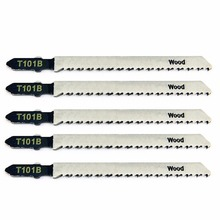 5pcs/set New T101B Jigsaw Blades Wood Cutting Softwood & Hardwood For Bosch 100mm