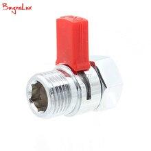 Душ прессуют быстрый клапан латунь воды управление клапан выключения для биде спрей или верхний Дождь душ ручной насадки