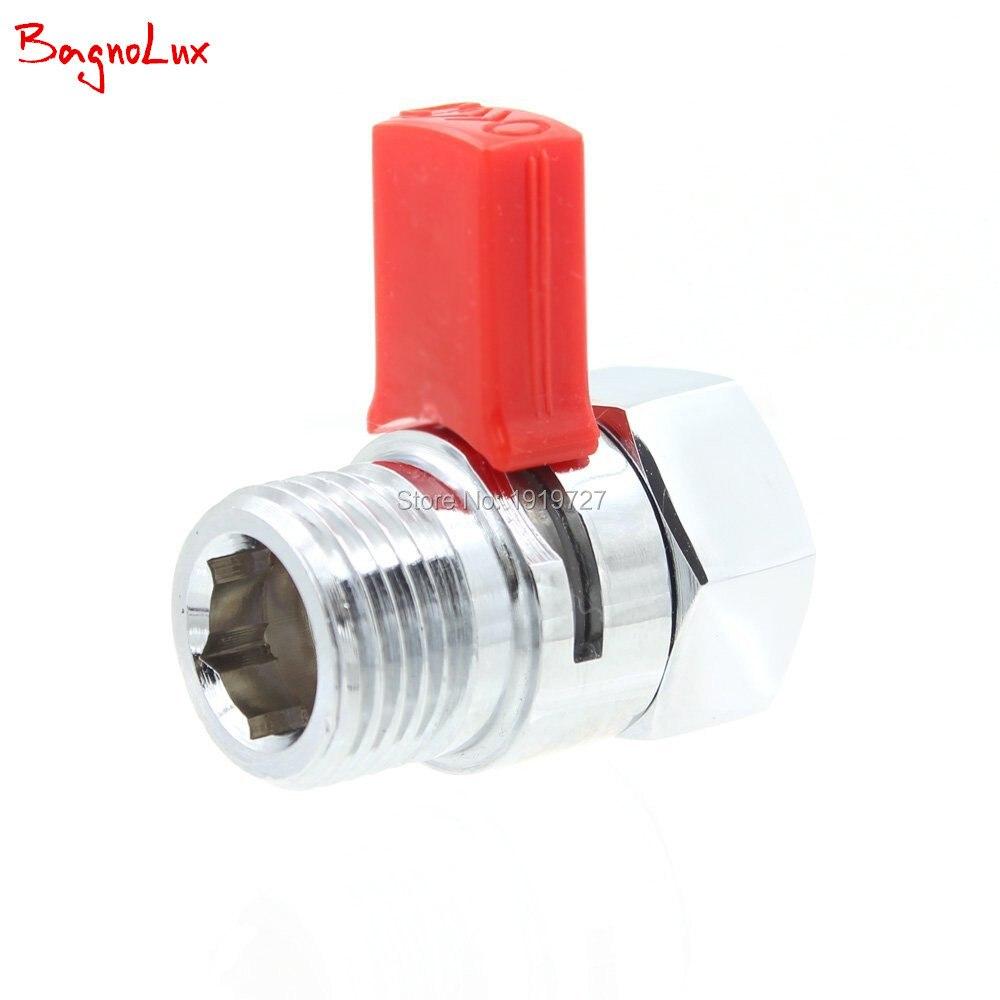 Wholesale Shower Pressue Quick Valve Brass Water Control Valve Shut Off Switch For Bidet Spray Or Top Rain Shower Hand Head