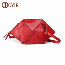 JOYIR Crossbody Bags For Women Genuine Leather Messenger Bags Leather Shoulder Bag Female Casual Handbags Clutch Bolsa Feminina women crossbody bags party satchel solid letter canvas letter leather handbags evening clutch bags handbags red casual bag bolsa