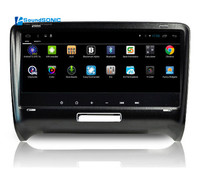 8.8Inch Full Touch Screen Android 6.0 Car DVD GPS Special for Audi TT MK2 2006 2014 with Wifi 1024*600 HD Screen