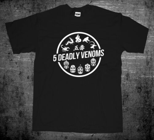 New Saw Brothers <font><b>Hongkong</b></font> Kungfu Cult Classic 5 Five Deadly Venoms Movie Men 2019 Summer Fashion Top Selling Designer <font><b>T</b></font> <font><b>Shirts</b></font> image