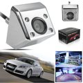 Silver 170 Degree Wide View Angle HD Waterproof Universal Car Parking Backup Reverse Rear View Camera Parking Webcam