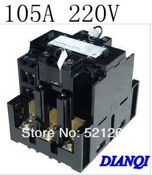 ac contactor B Series Contactor CJX8 b105 AC220V 105A 50/60HZ CJX8-105 freeshipping a2175hbt ac fan 171x151x5 mm 17cm 17251 230vac 50 60hz