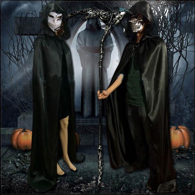 Cape Femmes Gn Wicca Robe Capuchon Tache Sorcière Manteau À Gothique 6zcy88
