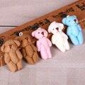 100pcs/lot Kawaii Small Joint Teddy Bears Stuffed Plush 5CM Toy Teddy-Bear Mini Bear Ted Bears Plush Toys Wedding Gifts 099