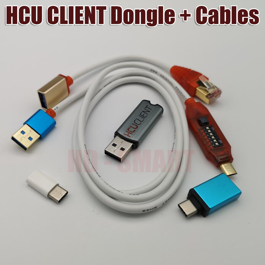 New Version HCU + DC Phoenix Dongle + Multi functional boot all in one cable - 3