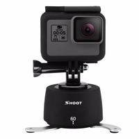 SHOOT 360 Degree 60 Minutes Delay Timer Time Lapse Delay Stabilizer Rotating Head Camera Accessories For