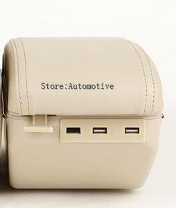 Для Citroen c-elysee/для Peugeot 301 подлокотник центральный магазин хранения содержимого коробка с подстаканником пепельница аксессуары 2012-2014