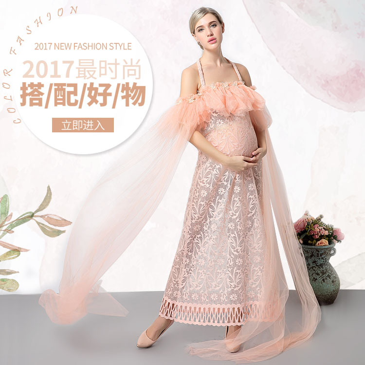 11#804 European Women clothing New studio photography pregnant Women Dress portrait Clothes Pregnant Women Photo Clothing pro skit mt 1210 2 0 lcd digital multimeter blue deep grey 1 x 9v battery page 5