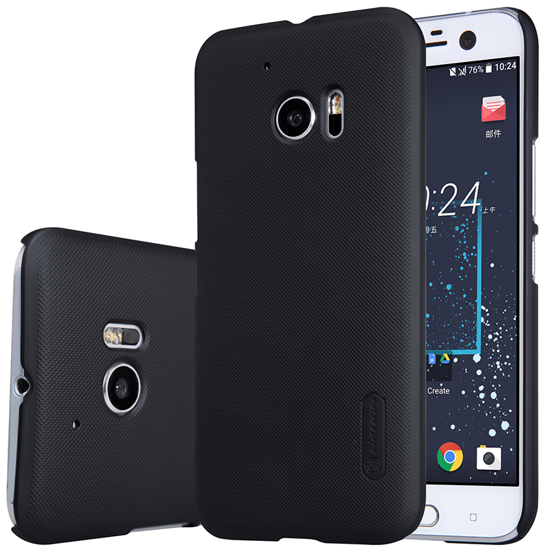 Case Voor HTC 10 Levensstijl Nillkin Frosted Shield Hard Plastic Cover HTC 10 Case (5.2 inch) met Gift Screen Protector