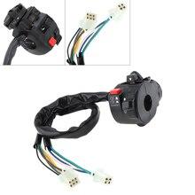 Motorcycle Handlebar Control Switch Turn Signal Headlight Fog Lamp Push Button ATV Start for ATV200  ATV250