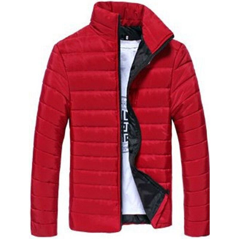 ZOGAA 2019 NEW Winter Men Causal   Parkas   Guys Cotton Long Sleeve Solid Thin   Parkas   Coats Male Warm Zipper Slim   Parkas   Overcoat