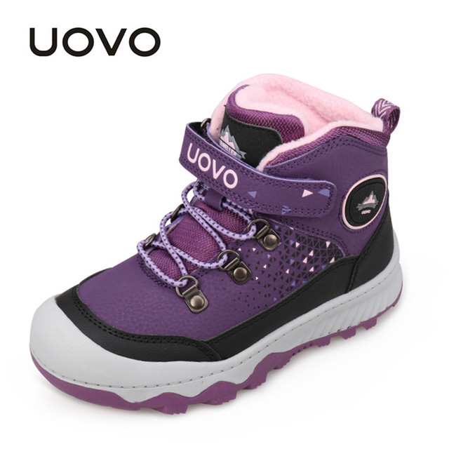 ff2bcddb0de Repelente al agua zapatos al aire libre zapatos de UOVO nueva moda niños  niñas Deporte Zapatos