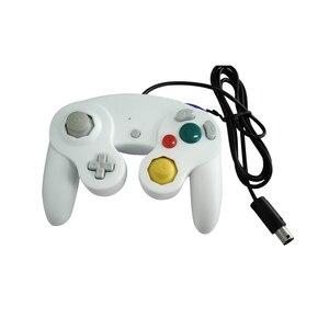 Image 5 - Takip numarası ile kablolu oyun denetleyicisi Gamepad için N G C Joystick için bir düğme oyun küp W i i