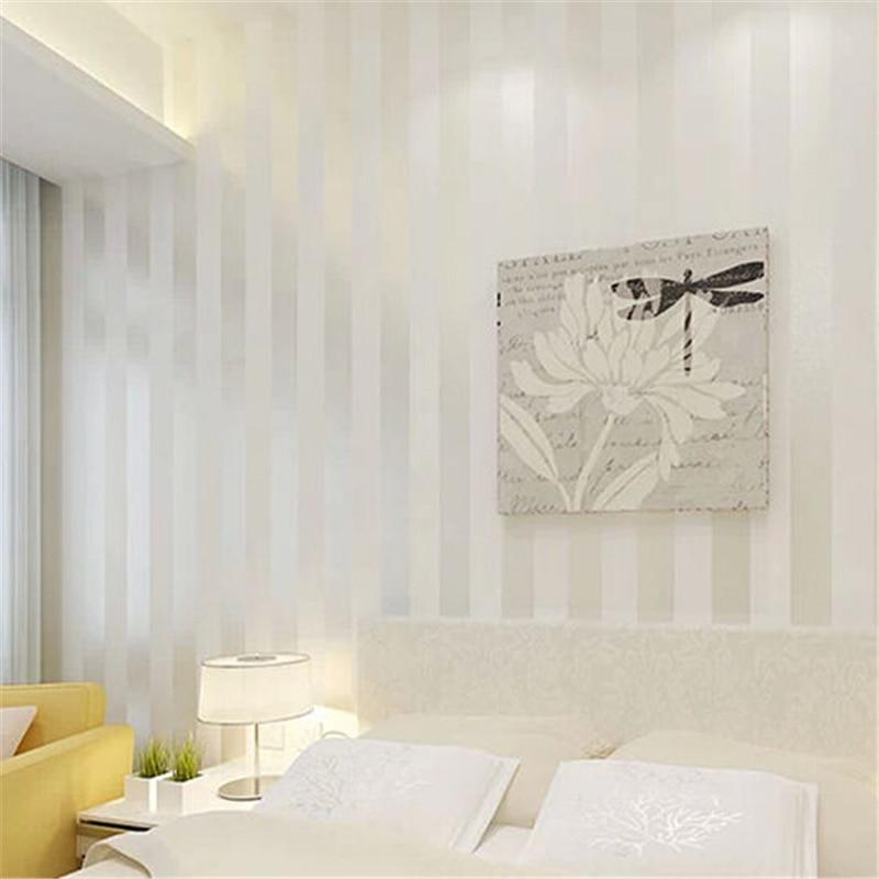 Photo Collection White Stripe Wallpaper