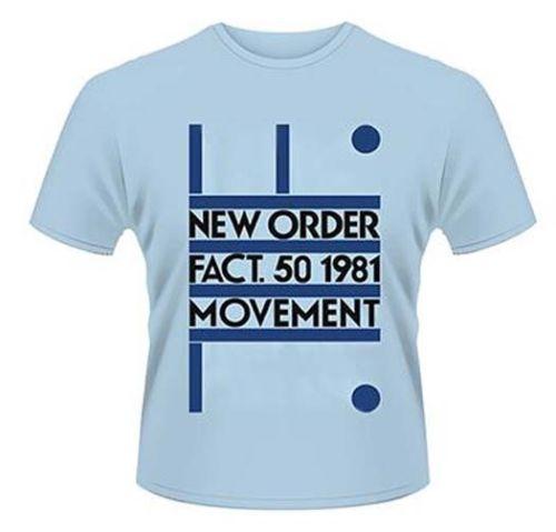 Gildan NEW ORDER MOVEMENT MENS MEDIUM T SHIRT NEW OFFICIAL BLUE