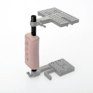 "Image 4 - NICEYRIG กล้อง DSLR Rig ชีส 15mm Rod Bracket 1/4 ""3/8"" M12 สกรูหลุมไหล่แท่ง 15 มม. ระบบ Rod Rail ความยาว 197 มม."