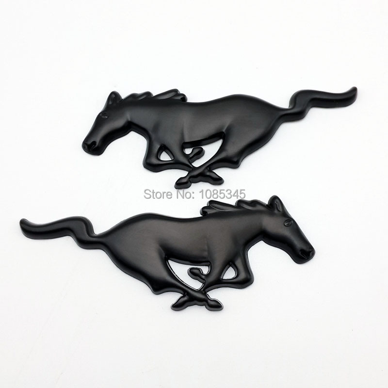 3d metal mustang running horse car emblem logo front hood grille badge stickers for ford mustang - Ford Mustang Logo Images
