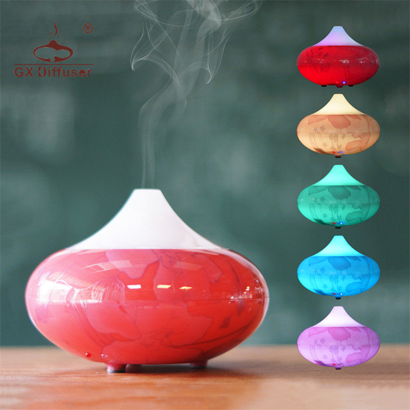 GX.Diffuser 160ML Aroma Diffuser Electric Essential Oil For Aromatherapy Humidifier Aroma Diffuser Ultrasonic Aroma Diffuser shenzhen professional aroma diffuser essential oil for hotel lobby