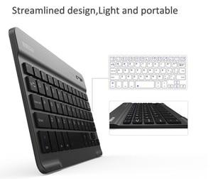 Image 2 - 8/9/10 pulgadas Mini Bluetooth Tastatur Wireless Für iPad Apple iPhone Tablet Android Smart Telefon Windows iOS tragbare Tastatur