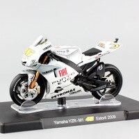 1 18 Scale Leo MotoGP No 46 Valentino Rossi Yamaha YZR M1 Estoril 2009 Championship Motorcycle