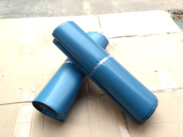 300Pcs/Lot Blue Poly Mailer Packaging Bag Self Adhesive Goods Mail Express Bags Courier  ...