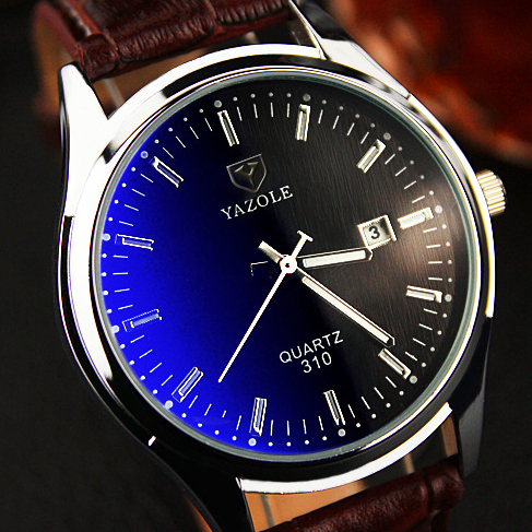 YAZOLE Quartz Watch Men Watches 2016 Top Brand Luxury Famous Male Clock Leather Wrist Watch Date Quartz-watch Relogio Masculino yazole 2017 new men s watches top brand watch men luxury famous male clock sports quartz watch relogio masculino wristwatch