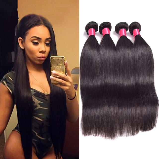 Halo Lady Hair Brazilian Straight Hair Bundles High Quality Hair