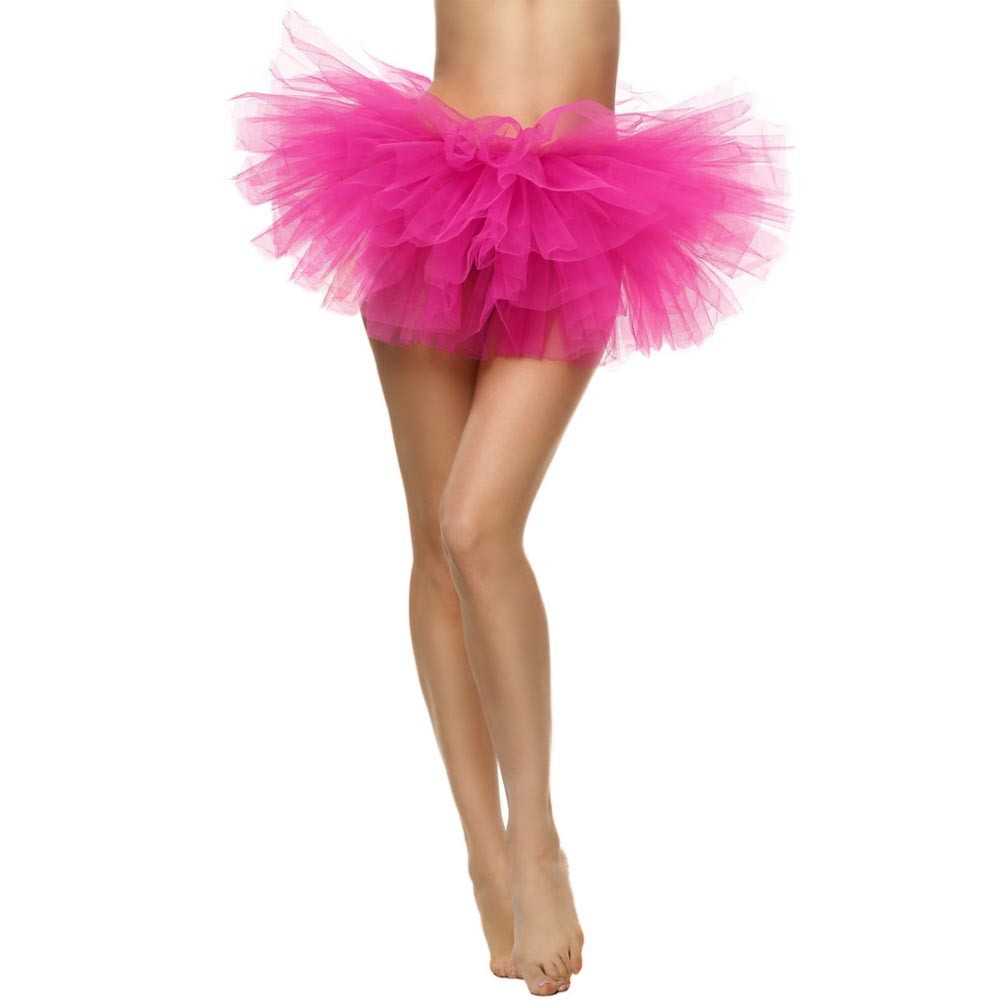 2019 MAXIORILL NEW Hot Sexy Fashion Pretty Girl Elastic Stretchy Tulle Adult Tutu 5 Layer Skirt Wholesale T4 81