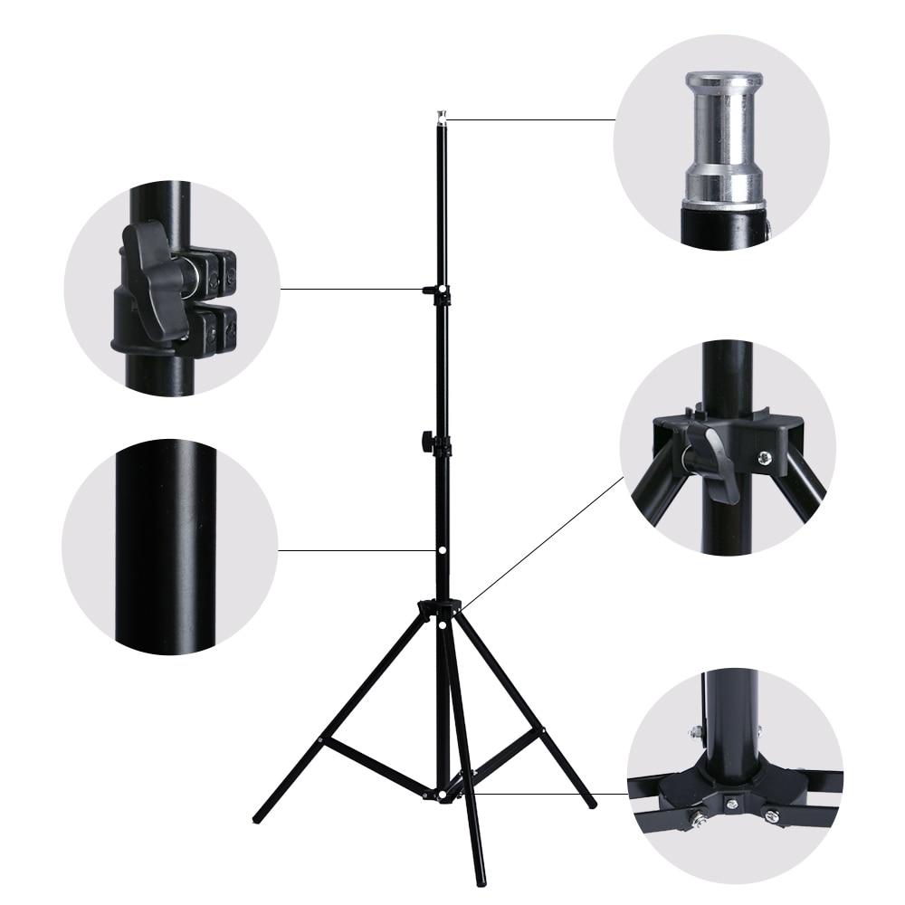Softbox de photographie professionnelle avec Kit d'éclairage à douille E27 pour Portraits de Studio Photo, photographie et prise de vue vidéo - 3