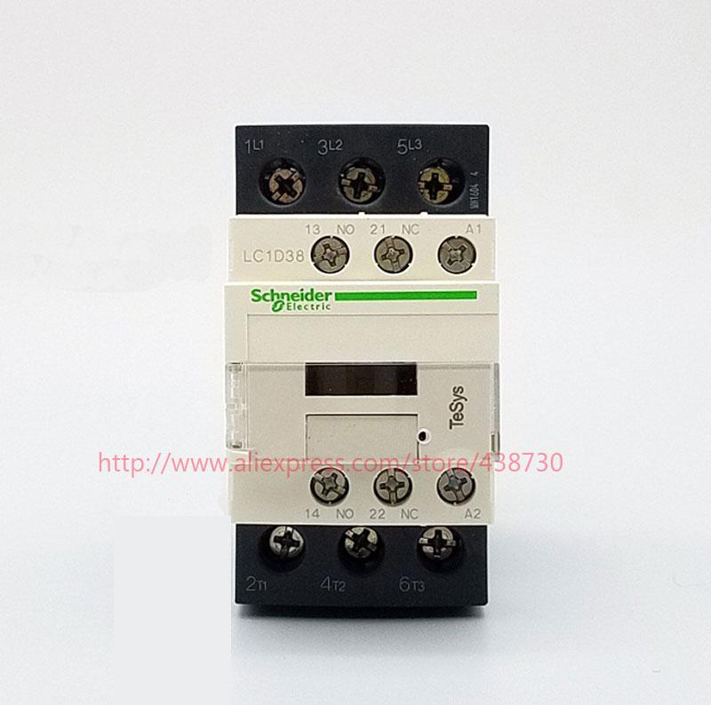 HTB16veBQVXXXXXtXFXXq6xXFXXXh - 1pcs AC contactor 38A LC1D38M7C Q7C B7C AC220V 380V 36V 24V LC1D-38 50 / 60HZ free shipping
