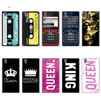 King Queen TPU For Lenovo Vibe K3 K5 K6 K8 Note A536 S850 A6020 Z5 Case For Lenovo P2 P70 A1010 A2020 Cases Clear Cover Coque telephony