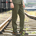 Motorcycle boys Pants Casual Men cargo pants camouflage military joggers Army Green sweatpants MK-711