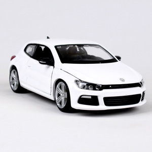 Image 4 - Bburago 1:24 VW Scirocco R Diecast Model Car Metal Car Kids Toys Car simulation model For Gift Collection