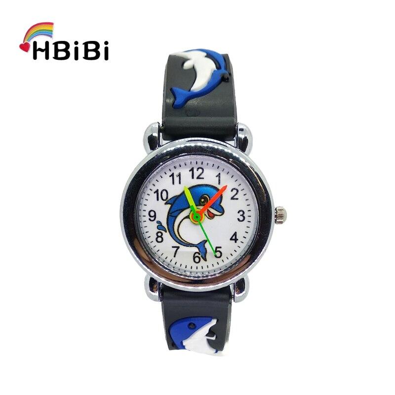 Relojes Fashion Kids Digital Watch Boys Cartoon Blue Ocean Whale Children Watches Girls Clcok Child Casual Quartz Wristwatches