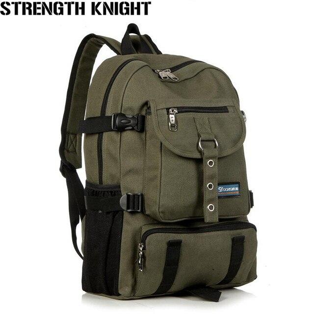 1366cd037138 New Fashion Shoulder Strap Zipper Solid Casual Bag Male Backpack School Bag  Canvas Backpack Designer Backpacks
