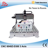 Mini CNC Router 6040 Z D300 Milling Machine 300W Spindle Cnc Engraver Free Tax To Russisa