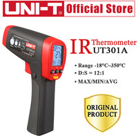 UNI T Pyrometer Infrared UT301A /301C Laser IR thermometer Gun 18~550 Degree Handheld Non contact IR thermometer