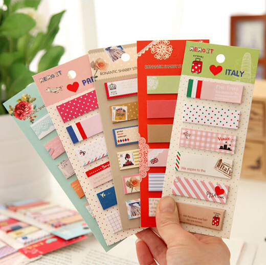 2pcs/lot New arrive A variety of cartoon animal style notepad Sticky note memo Message post