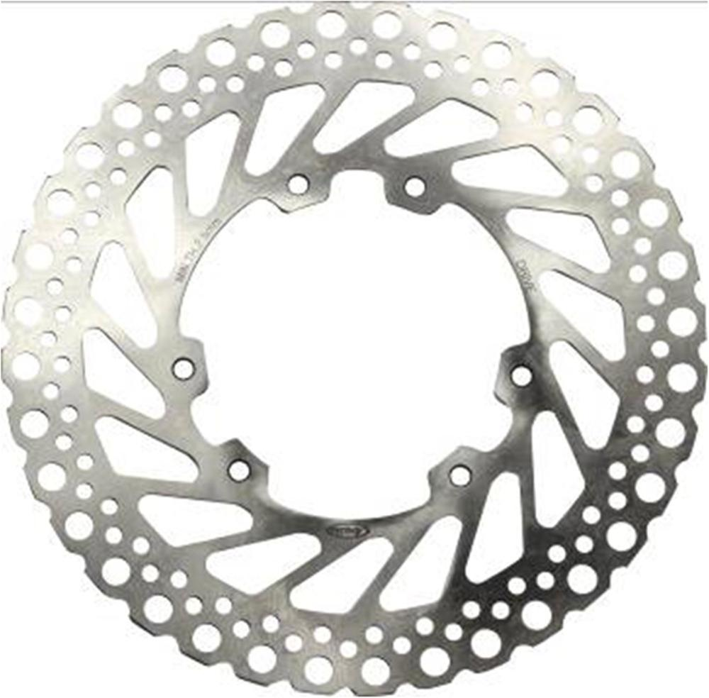 1 Pcs Motocross Front Brake Rotor Disc Braking Disk for Honda-HM CRF 230 ENDURO 2004-2010 CRE 250F/250X 2004-2009 Pit Dirt Bikes 1 pcs motorcycle rear brake rotor disc steel braking disk for honda cbr1100xx 1997 2004 xlv1000 varadero abs 2004 2007 2010 2011